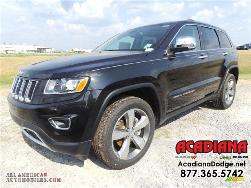 2015 jeep grand cherokee limited in brilliant black crystal pearl 856845 all american. Black Bedroom Furniture Sets. Home Design Ideas