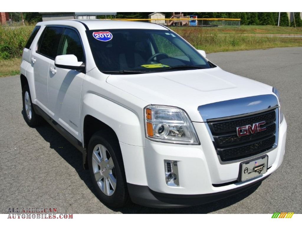 2012 gmc terrain sle in olympic white 332109 all american automobiles buy american cars. Black Bedroom Furniture Sets. Home Design Ideas