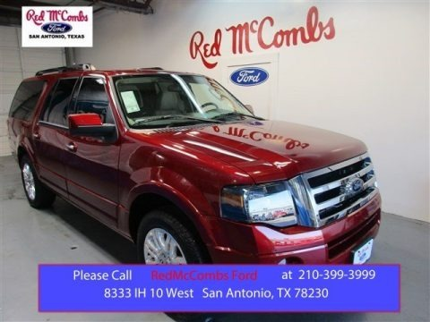 Ruby Red 2014 Ford Expedition EL Limited