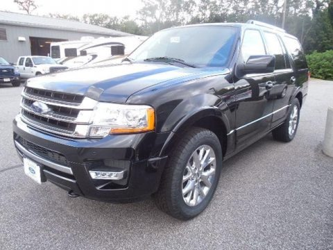 Tuxedo Black Metallic 2015 Ford Expedition Limited 4x4