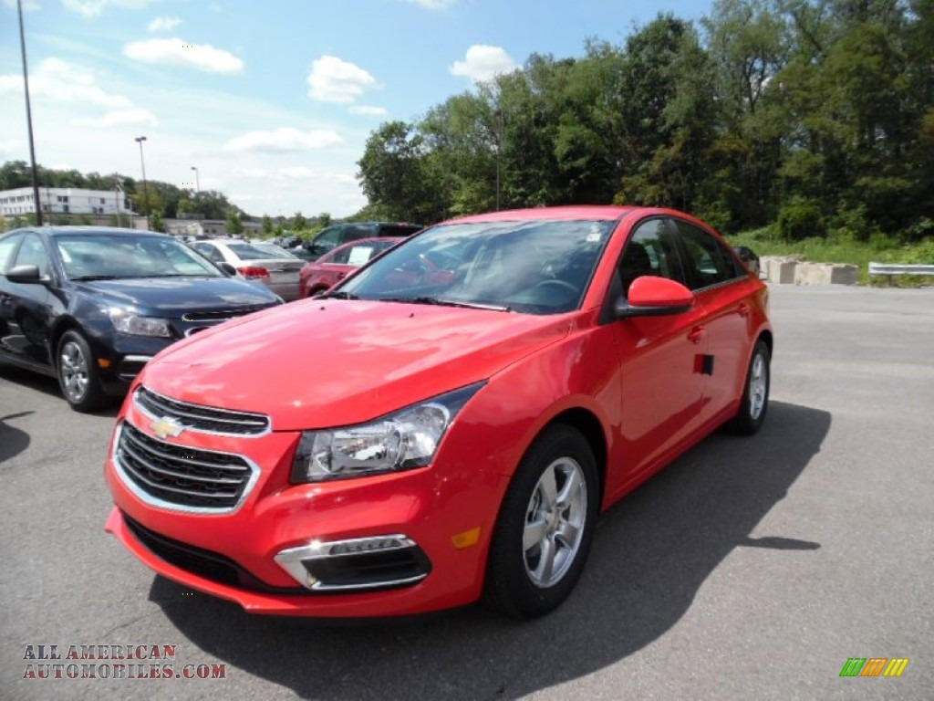 2016 chevrolet cruze limited lt in red hot 142615 all american automobiles buy american. Black Bedroom Furniture Sets. Home Design Ideas