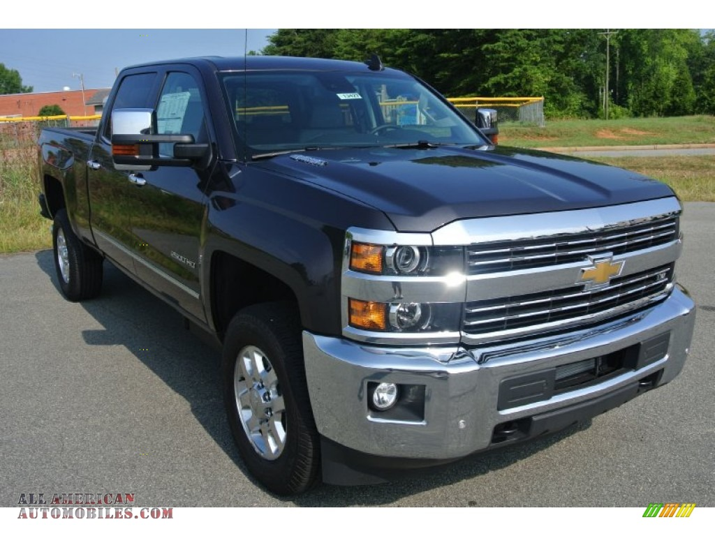 2015 chevrolet silverado 2500hd ltz crew cab 4x4 in tungsten metallic 619505 all american. Black Bedroom Furniture Sets. Home Design Ideas