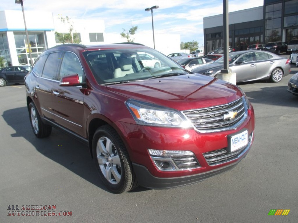 2016 chevrolet traverse ltz awd in siren red tintcoat. Black Bedroom Furniture Sets. Home Design Ideas