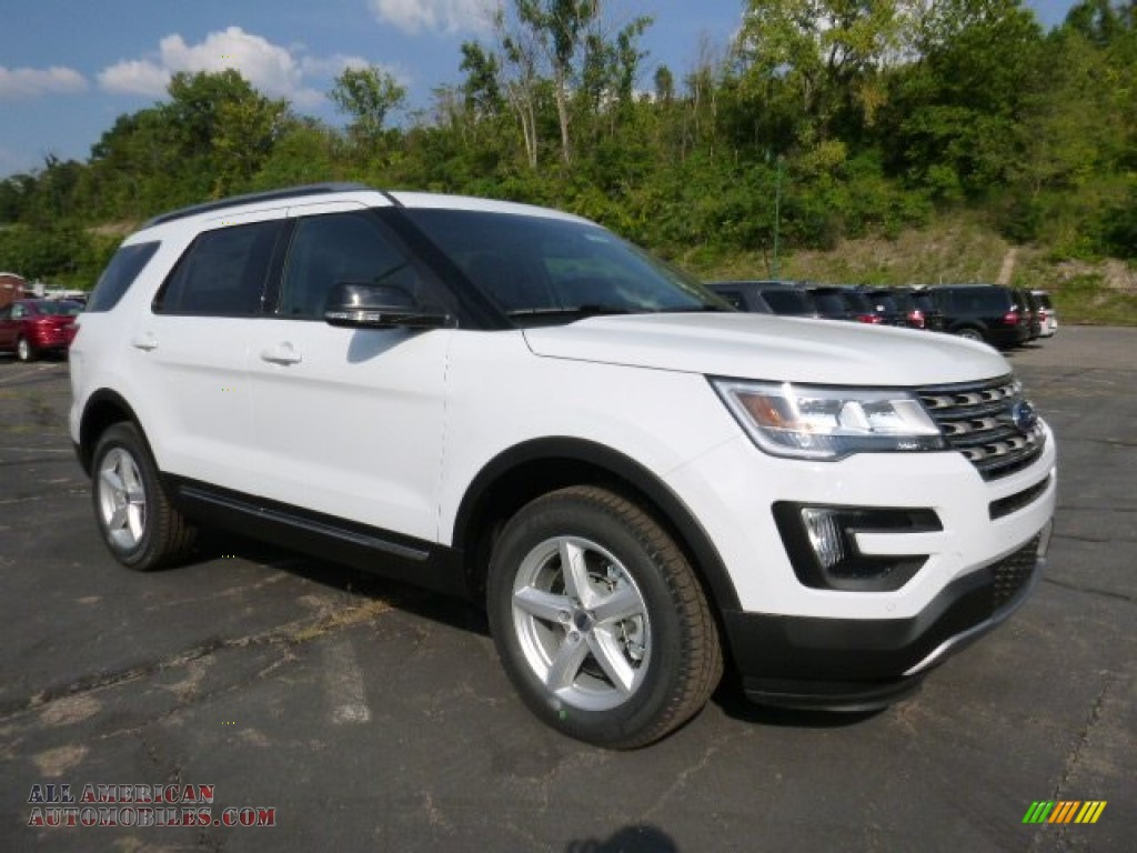 2016 ford explorer xlt 4wd in oxford white a50768 all american. Black Bedroom Furniture Sets. Home Design Ideas