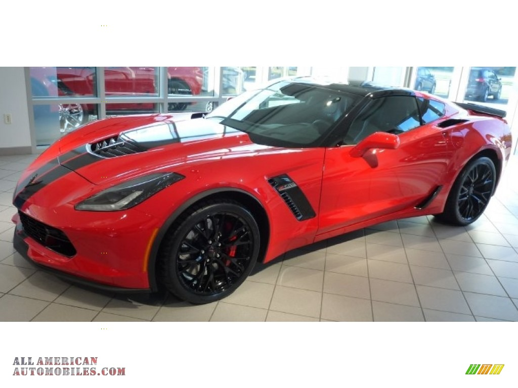 2016 Chevrolet Corvette Z06 Coupe In Torch Red 601670