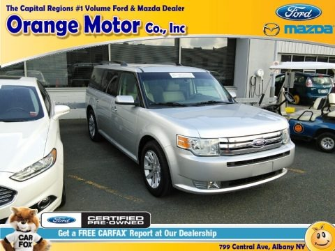 Ingot Silver Metallic 2012 Ford Flex SEL