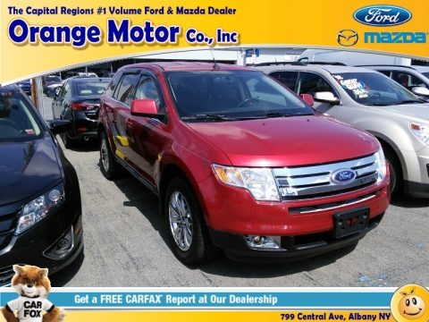Red Candy Metallic 2010 Ford Edge Limited AWD