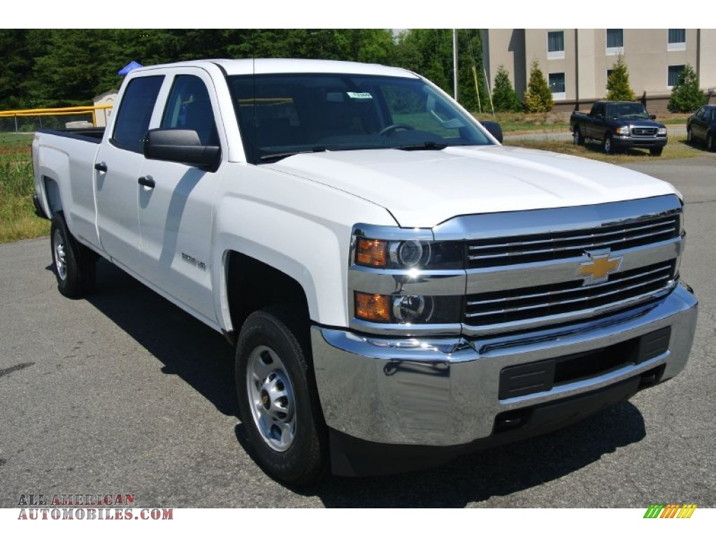 2015 chevrolet silverado 2500hd wt crew cab 4x4 in summit white 648931 all american. Black Bedroom Furniture Sets. Home Design Ideas