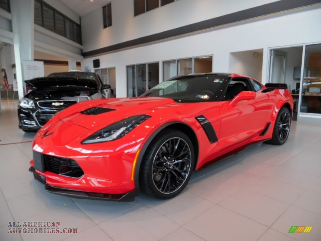 2016 chevrolet corvette z06 coupe in torch red 602028 all american automobiles buy. Black Bedroom Furniture Sets. Home Design Ideas