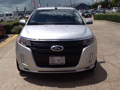 Ingot Silver Metallic 2012 Ford Edge Sport