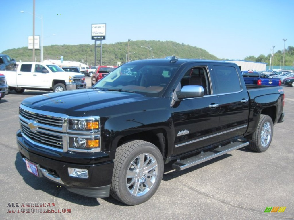 2015 chevrolet silverado 1500 high country crew cab 4x4 in black photo 3 373562 all. Black Bedroom Furniture Sets. Home Design Ideas
