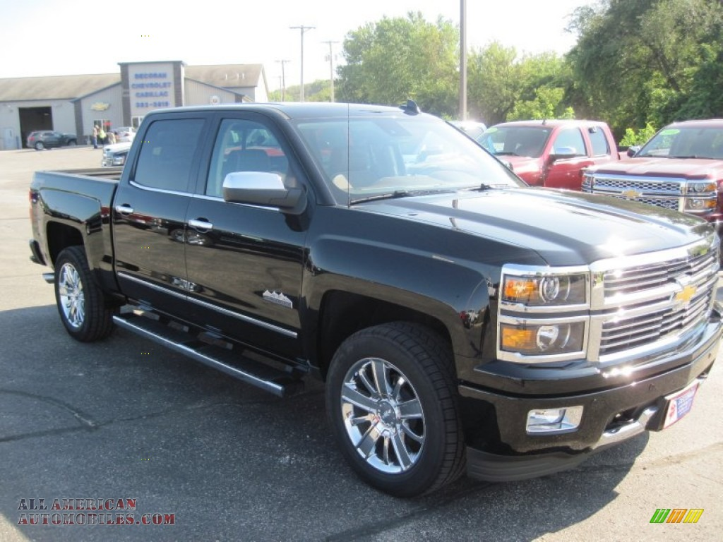 2015 chevrolet silverado 1500 high country crew cab 4x4 in black photo 6 373562 all. Black Bedroom Furniture Sets. Home Design Ideas