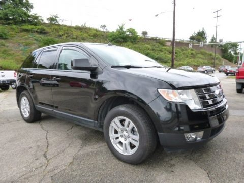 Black 2007 Ford Edge SEL Plus AWD