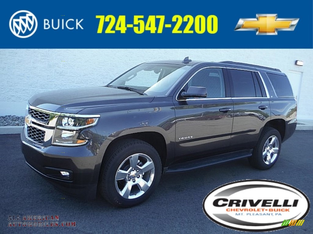 2016 chevrolet tahoe lt 4wd in tungsten metallic 118215 all american automobiles buy. Black Bedroom Furniture Sets. Home Design Ideas