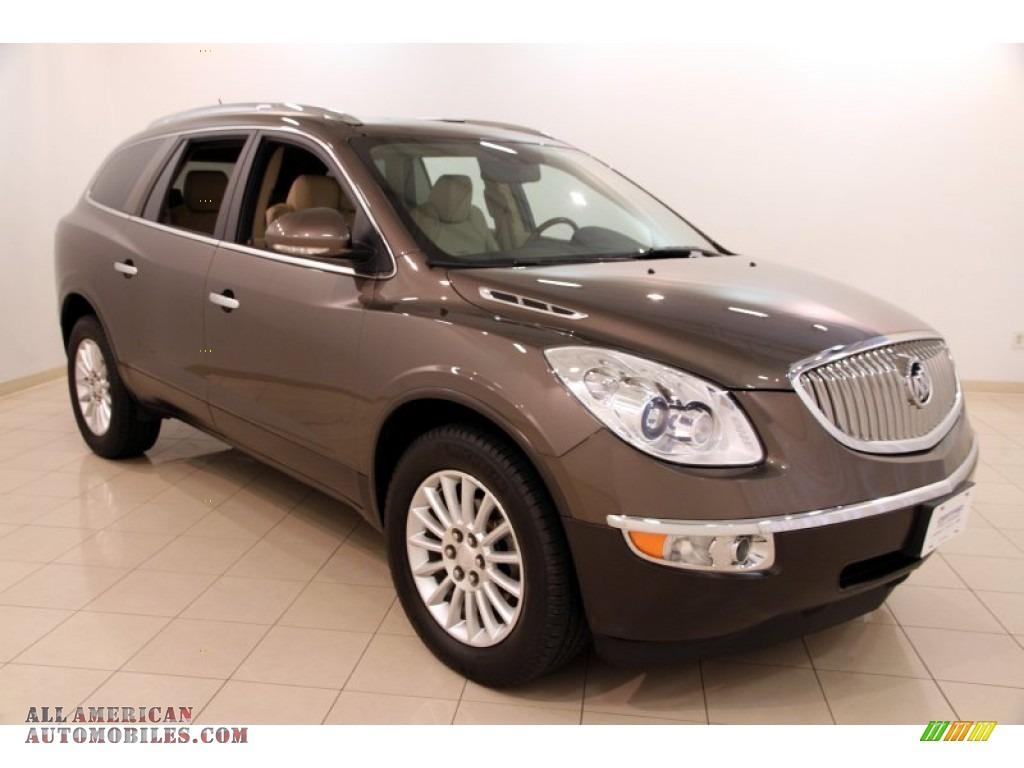 2011 buick enclave cxl in cocoa metallic 313478 all american automobiles buy american cars. Black Bedroom Furniture Sets. Home Design Ideas