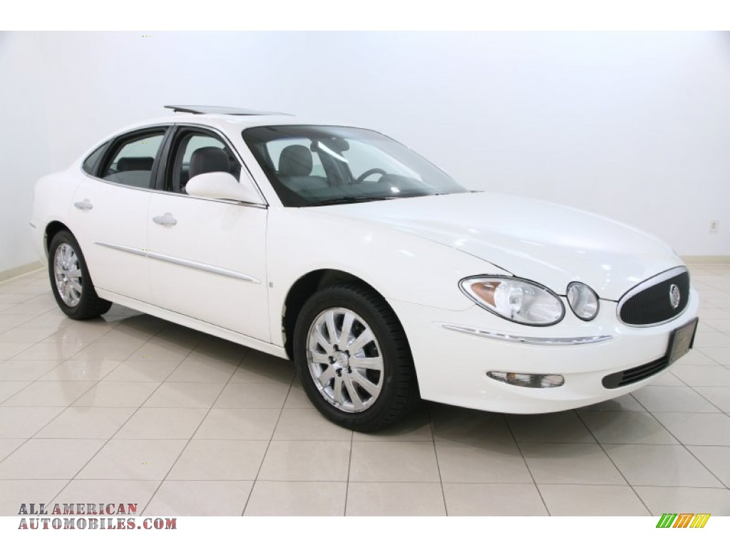 2007 buick lacrosse cxl in white opal 185143 all american automobiles buy american cars. Black Bedroom Furniture Sets. Home Design Ideas