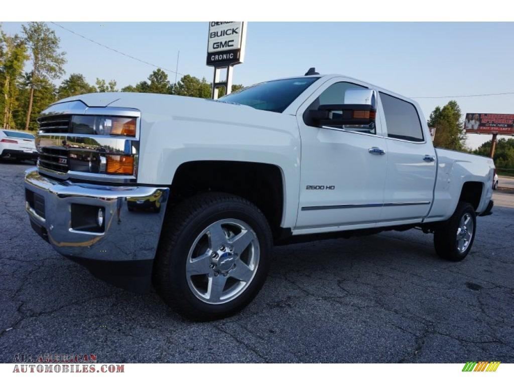 2015 chevrolet silverado 2500hd ltz crew cab 4x4 in summit white photo 3 619456 all. Black Bedroom Furniture Sets. Home Design Ideas