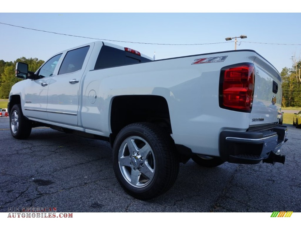 2015 chevrolet silverado 2500hd ltz crew cab 4x4 in summit white photo 5 619456 all. Black Bedroom Furniture Sets. Home Design Ideas