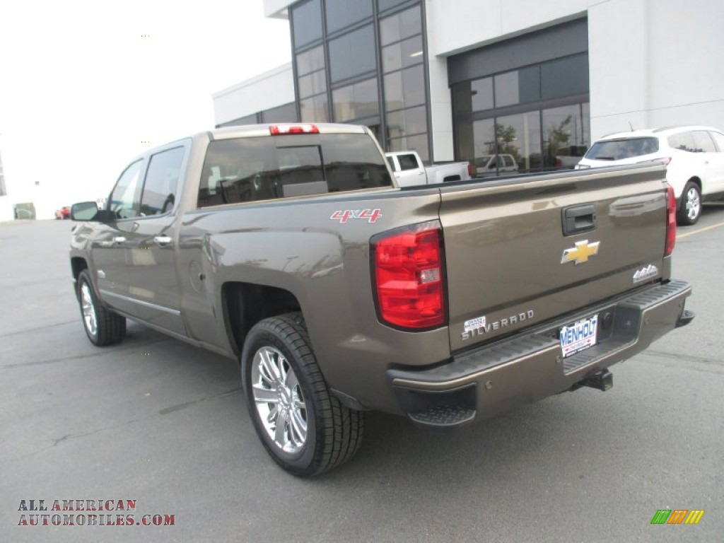 2014 chevrolet silverado 1500 high country crew cab 4x4 in brownstone metallic photo 4 306706. Black Bedroom Furniture Sets. Home Design Ideas