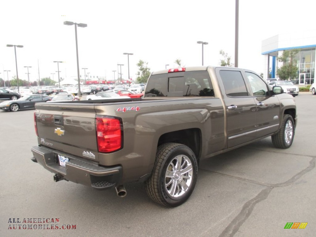 2014 chevrolet silverado 1500 high country crew cab 4x4 in brownstone metallic photo 6 306706. Black Bedroom Furniture Sets. Home Design Ideas