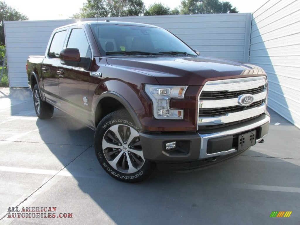 2015 ford f150 king ranch supercrew 4x4 in bronze fire metallic b22738 all american. Black Bedroom Furniture Sets. Home Design Ideas