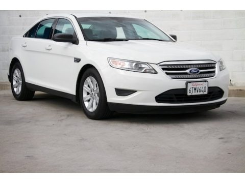 White Suede 2012 Ford Taurus SE