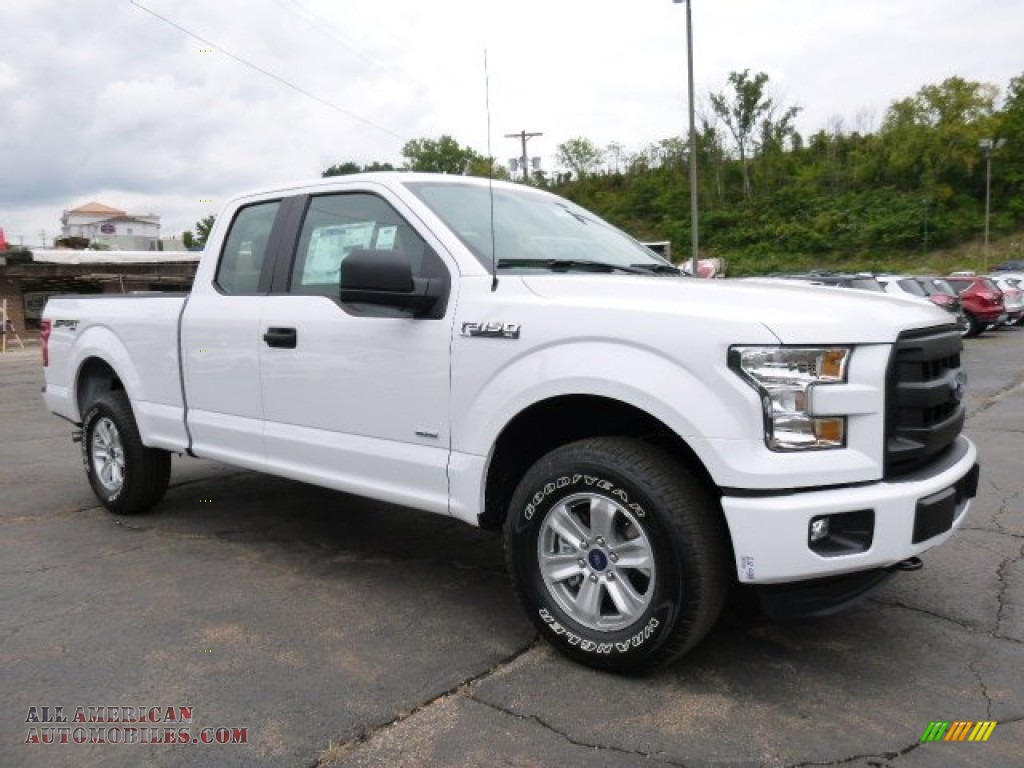 2015 ford f150 xl supercab 4x4 in oxford white c28074 all american automobiles buy. Black Bedroom Furniture Sets. Home Design Ideas