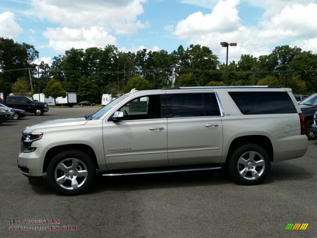 2016 chevrolet suburban ltz 4wd in champagne silver. Black Bedroom Furniture Sets. Home Design Ideas