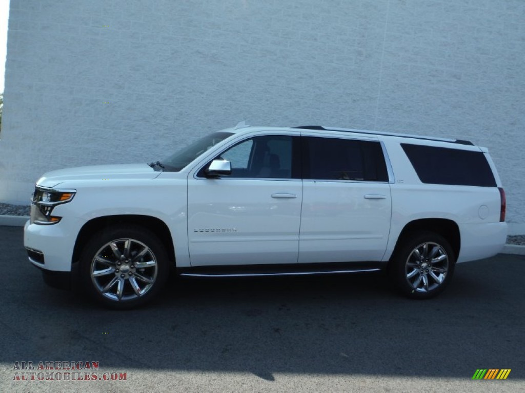 2016 Chevrolet Suburban LTZ 4WD in Summit White photo #2 ...