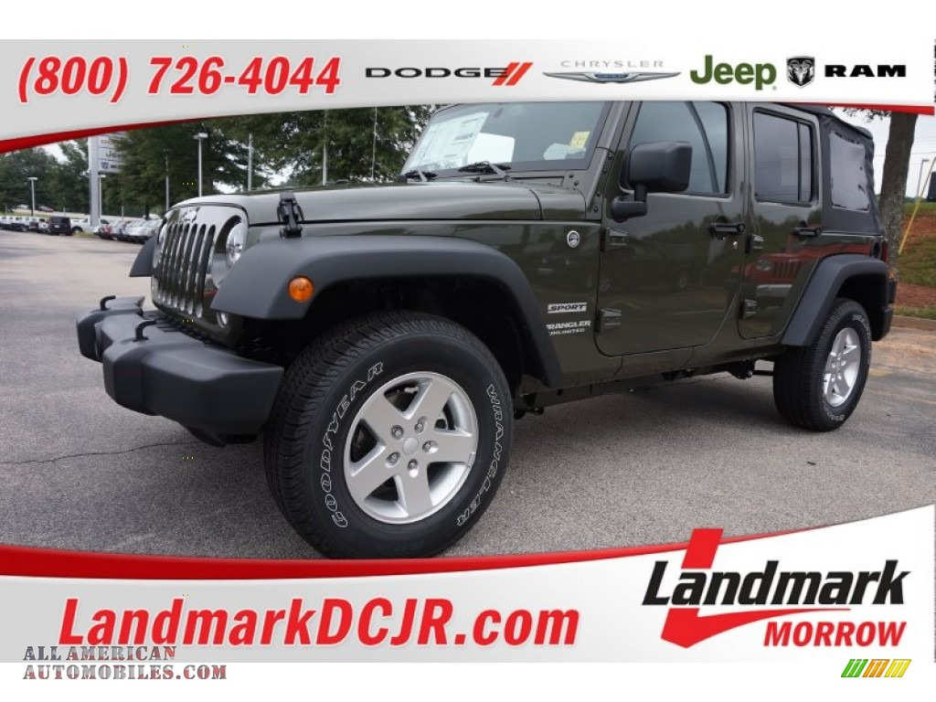 2015 jeep wrangler unlimited sport 4x4 in tank 742805 all american automobiles buy. Black Bedroom Furniture Sets. Home Design Ideas