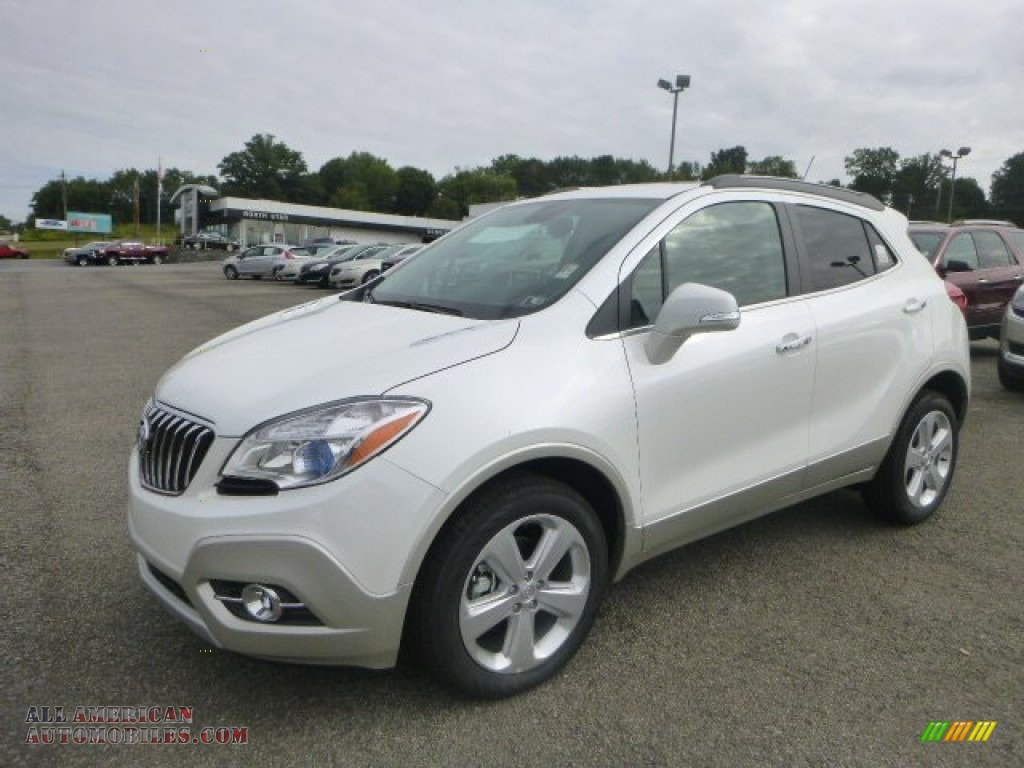 2015 buick encore convenience in white pearl tricoat 234822 all american automobiles buy. Black Bedroom Furniture Sets. Home Design Ideas