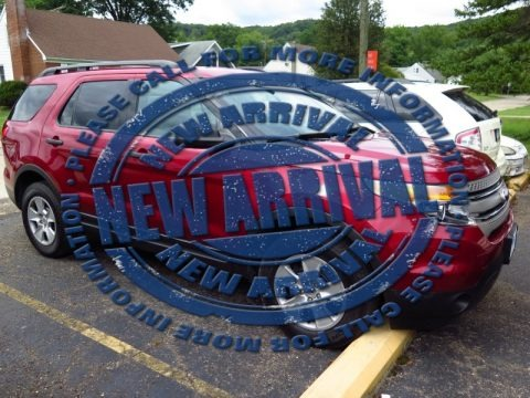 Ruby Red 2014 Ford Explorer 4WD