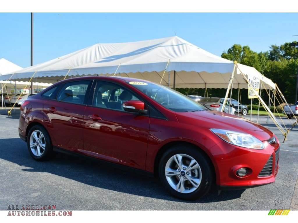 2014 ford focus se sedan in ruby red 291779 all