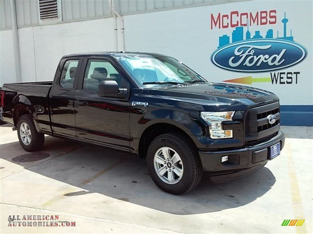 2015 ford f150 xl supercab in tuxedo black metallic e02770 all american automobiles buy. Black Bedroom Furniture Sets. Home Design Ideas