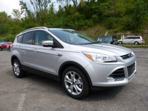 Ingot Silver Metallic 2016 Ford Escape Titanium 4WD