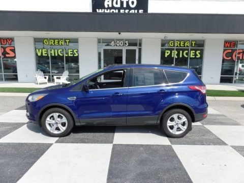 Deep Impact Blue Metallic 2013 Ford Escape SE 1.6L EcoBoost