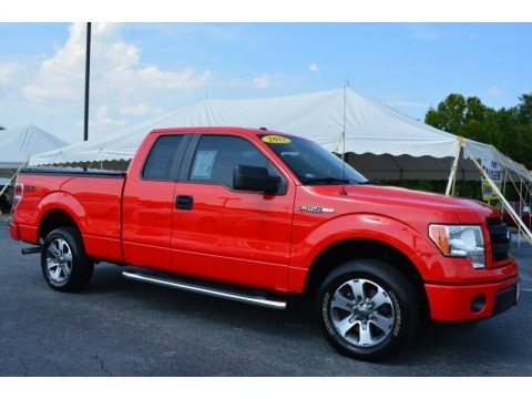 Race Red 2013 Ford F150 STX SuperCab