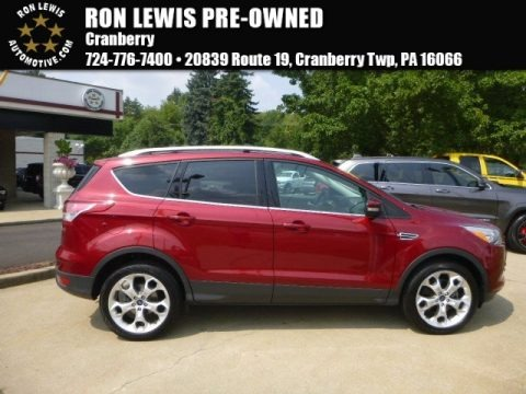 Ruby Red Metallic 2013 Ford Escape Titanium 2.0L EcoBoost 4WD
