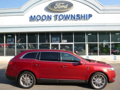 Ruby Red 2013 Lincoln MKT EcoBoost AWD