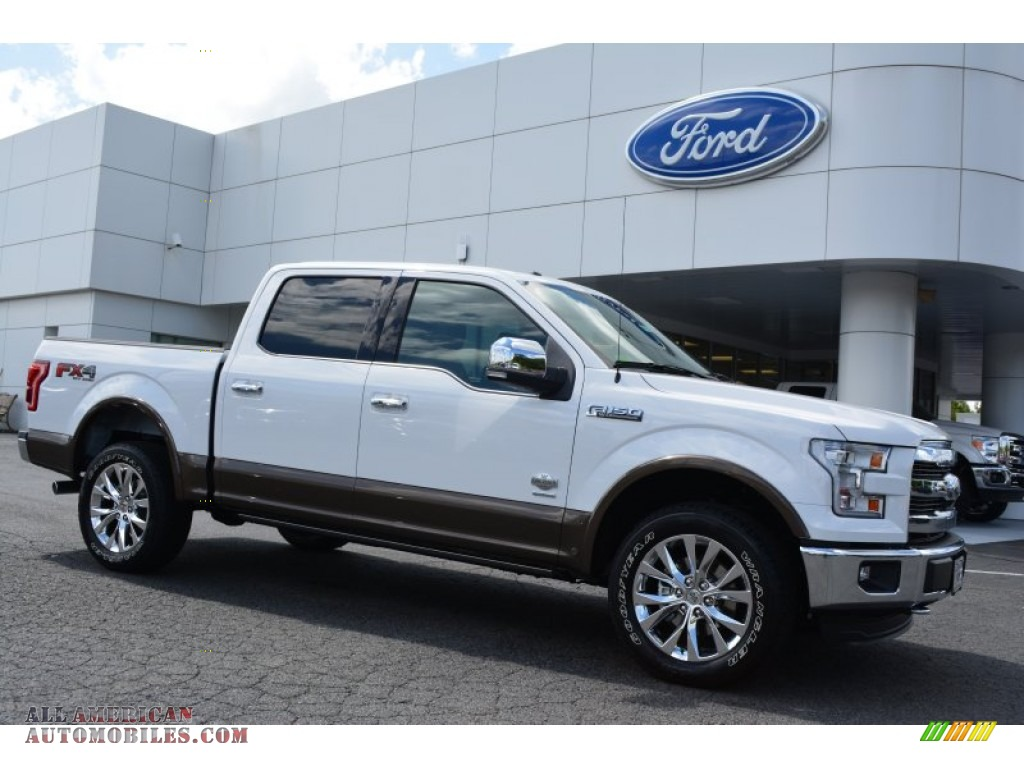 2015 ford f150 king ranch supercrew 4x4 in oxford white c57870 all american automobiles. Black Bedroom Furniture Sets. Home Design Ideas