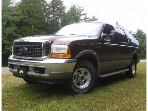 Toreador Red Metallic 2001 Ford Excursion Limited 4x4