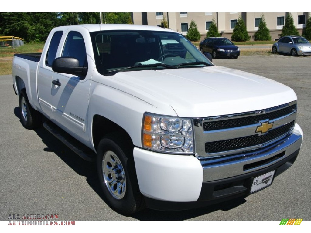 2010 chevrolet silverado 1500 ls extended cab in summit. Black Bedroom Furniture Sets. Home Design Ideas