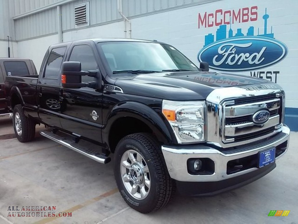 2016 ford f350 super duty lariat crew cab 4x4 in shadow black a37013 all american. Black Bedroom Furniture Sets. Home Design Ideas