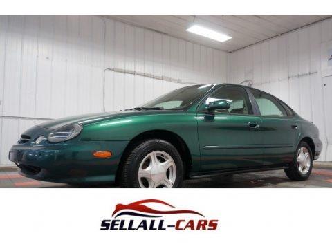 Spruce Green Metallic 1999 Ford Taurus SE