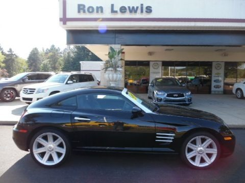 Black 2004 Chrysler Crossfire Limited Coupe