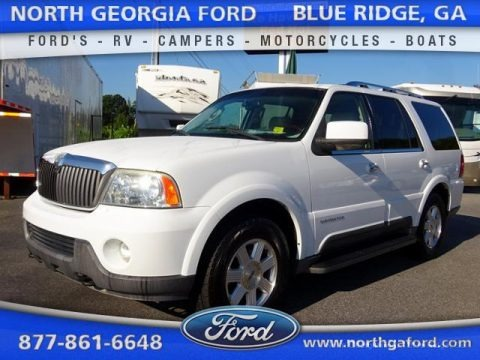 Oxford White 2003 Lincoln Navigator Luxury