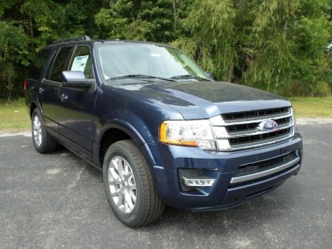 Blue Jeans Metallic 2016 Ford Expedition Limited