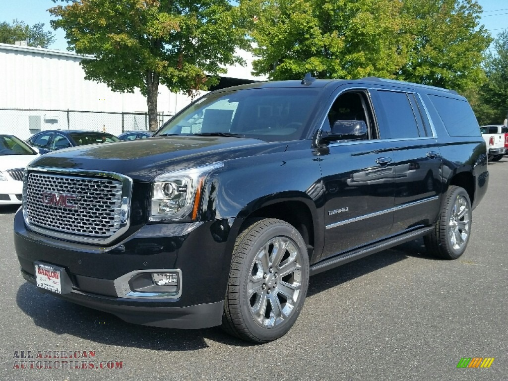 2016 gmc yukon xl denali 4wd in onyx black 146924 all. Black Bedroom Furniture Sets. Home Design Ideas