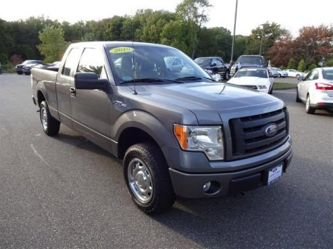 Sterling Grey Metallic 2010 Ford F150 STX SuperCab 4x4