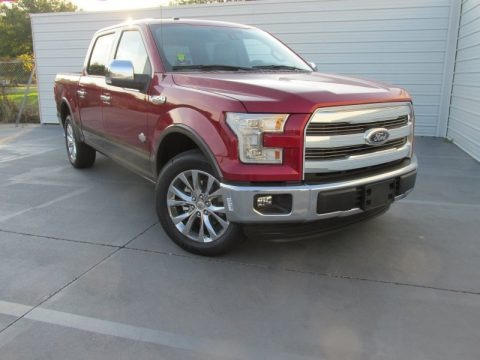 Ruby Red Metallic 2015 Ford F150 King Ranch SuperCrew